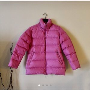 MONCLER Dusty Pink Puffer